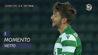 Sporting CP, Jogada, Vietto aos 5'
