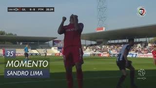 Gil Vicente FC, Jogada, Sandro Lima aos 35'