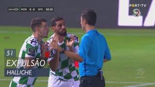 Moreirense FC, Expulsão, Halliche aos 51'