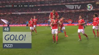 GOLO! SL Benfica, Pizzi aos 48', SL Benfica 2-0 FC Famalicão