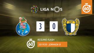 I Liga (8ªJ): Resumo Flash FC Porto 3-0 FC Famalicão