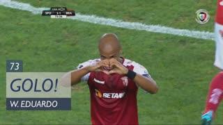 GOLO! SC Braga, Wilson Eduardo aos 73', Sporting CP 2-1 SC Braga