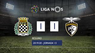 Liga NOS (15ªJ): Resumo Boavista FC 1-1 Portimonense