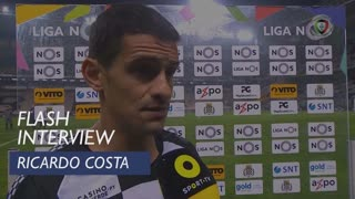 Liga (13ª): Flash Interview Ricardo Costa