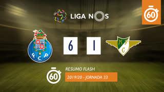 Liga NOS (33ªJ): Resumo Flash FC Porto 6-1 Moreirense FC