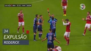 FC Famalicão, Expulsão, Roderick aos 34'