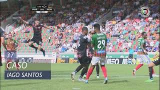 Moreirense FC, Caso, Iago Santos aos 37'