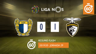 I Liga (29ªJ): Resumo Flash FC Famalicão 0-1 Portimonense