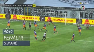 Moreirense FC, Penálti, S. Mané aos 90'+2'