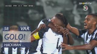 GOLO! Portimonense, Hackman aos 58', Portimonense 3-1 Marítimo M.