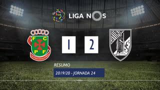 Liga NOS (24ªJ): Resumo FC P.Ferreira 1-2 Vitória SC