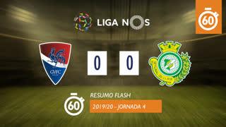 I Liga (4ªJ): Resumo Flash Gil Vicente FC 0-0 Vitória FC