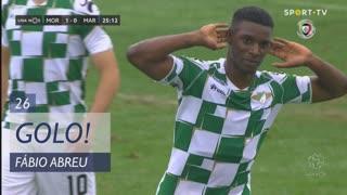 GOLO! Moreirense FC, Fábio Abreu aos 26', Moreirense FC 1-0 Marítimo M.