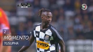 Boavista FC, Jogada, Yusupha aos 2'