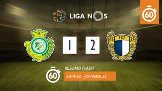 I Liga (32ªJ): Resumo Flash Vitória FC 1-2 FC Famalicão