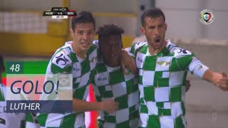GOLO! Moreirense FC, Luther aos 48', Moreirense FC 1-0 SL Benfica