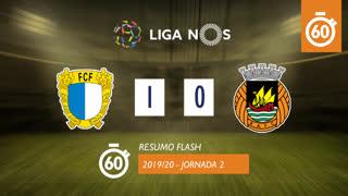 Liga NOS (2ªJ): Resumo Flash FC Famalicão 1-0 Rio Ave FC
