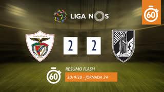 Liga NOS (34ªJ): Resumo Flash Santa Clara 2-2 Vitória SC