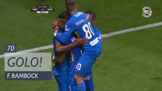 GOLO! Marítimo M., F. Bambock aos 70', SC Braga 1-2 Marítimo M.