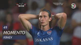 Gil Vicente FC, Jogada, Kraev aos 49'