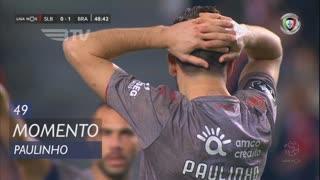SC Braga, Jogada, Paulinho aos 49'