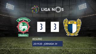 Liga NOS (34ªJ): Resumo Marítimo M. 3-3 FC Famalicão