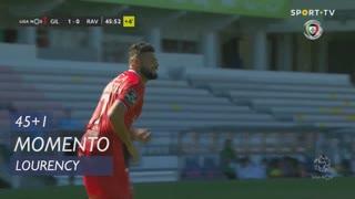 Gil Vicente FC, Jogada, Lourency aos 45'+1'