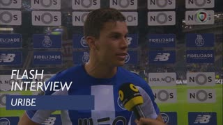 Liga (4ª): Flash Interview Uribe