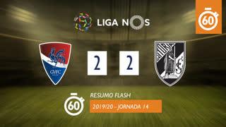 Liga NOS (14ªJ): Resumo Flash Gil Vicente FC 2-2 Vitória SC