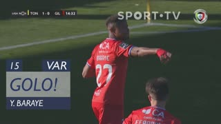 GOLO! Gil Vicente FC, Y. Baraye aos 15', CD Tondela 1-1 Gil Vicente FC