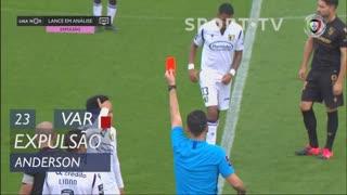 FC Famalicão, Expulsão, Anderson aos 23'
