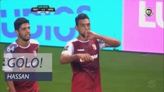 GOLO! SC Braga, Hassan aos 64', SC Braga 2-0 Moreirense FC