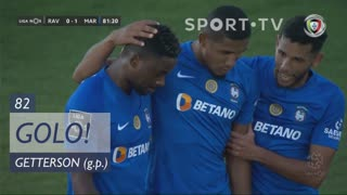 GOLO! Marítimo M., Getterson aos 82', Rio Ave FC 0-1 Marítimo M.
