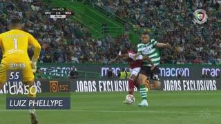 Sporting CP, Caso, Luiz Phellype aos 55'