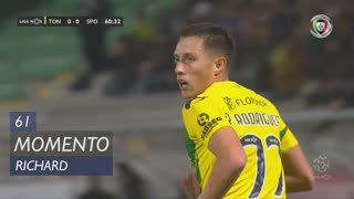 CD Tondela, Jogada, Richard aos 61'