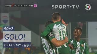 GOLO! Rio Ave FC, Diego Lopes aos 90'+2', CD Aves 0-4 Rio Ave FC