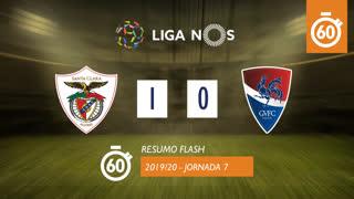 Liga NOS (7ªJ): Resumo Flash Santa Clara 1-0 Gil Vicente FC