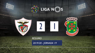 I Liga (19ªJ): Resumo Santa Clara 2-1 FC P.Ferreira