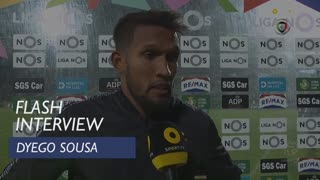 Liga (24ª): Flash Interview Dyego Sousa