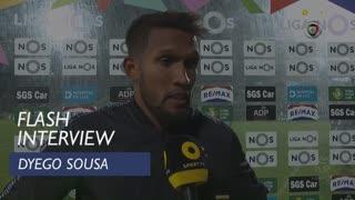 Liga (24ª): Flash Interview Dyego Sousa