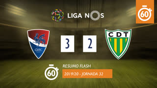 Liga NOS (32ªJ): Resumo Flash Gil Vicente FC 3-2 CD Tondela