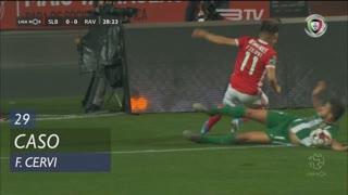 SL Benfica, Caso, F. Cervi aos 29'