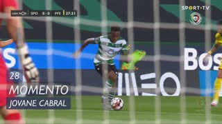 Sporting CP, Jogada, Jovane Cabral aos 28'