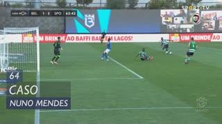 Sporting CP, Caso, Nuno Mendes aos 64'