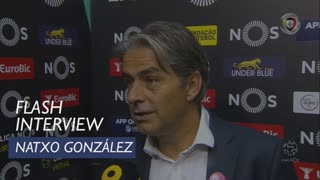Liga (8ª): Flash Interview Natxo González