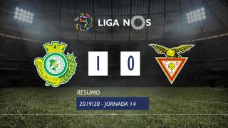 Liga NOS (14ªJ): Resumo Vitória FC 1-0 CD Aves