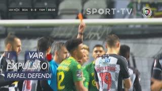FC Famalicão, Expulsão, Rafael Defendi aos 1'
