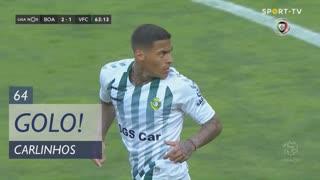 GOLO! Vitória FC, Carlinhos aos 64', Boavista FC 2-1 Vitória FC