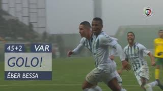 GOLO! Vitória FC, Éber Bessa aos 45'+2', FC P.Ferreira 0-1 Vitória FC