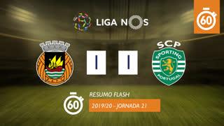 Liga NOS (21ªJ): Resumo Flash Rio Ave FC 1-1 Sporting CP